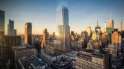 Rendering of Macy's office tower by FXCollaborative