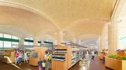 Rendering of proposed interior of Trader Joe's 405 East 59th Street Location - Madd Equities