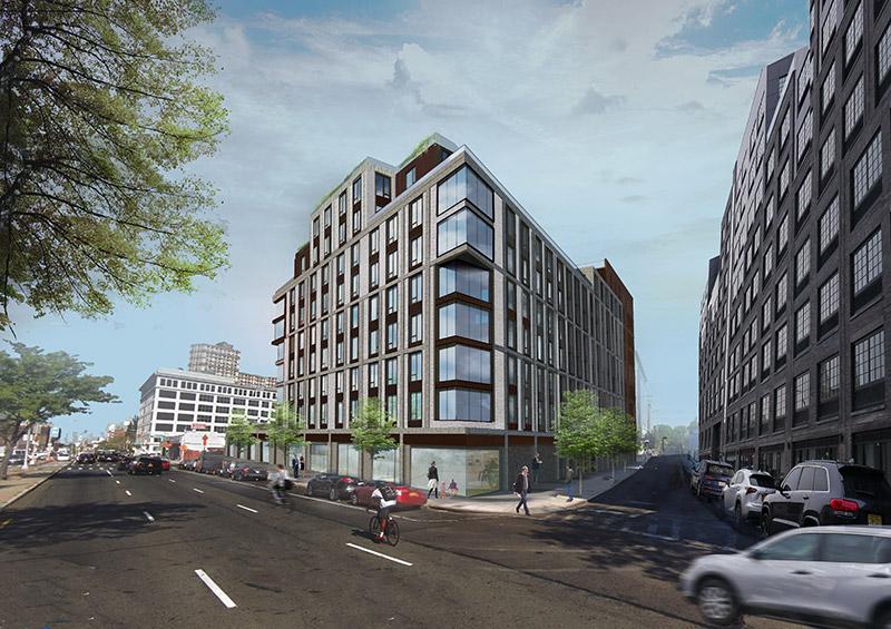 Rendering of 540 Waverly Avenue - Kutnicki Bernstein Architects