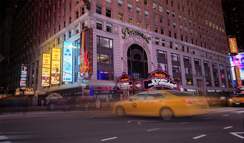 The Paramount Building at 1501 Broadway - Tobin Parnes Design
