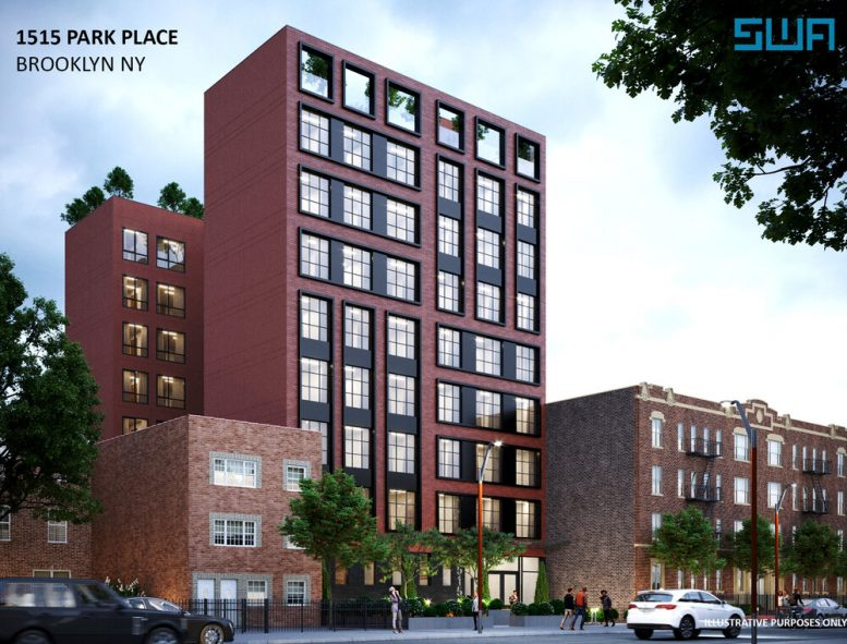 Rendering of 1515 Park Place - S. Wieder Architect