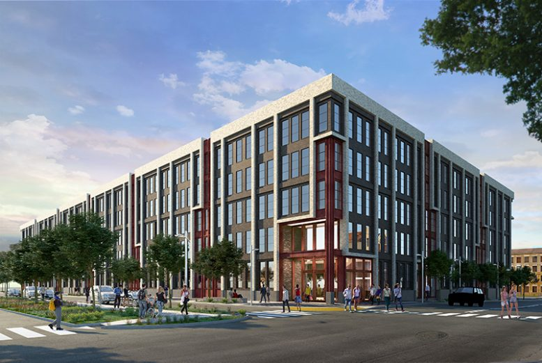 Rendering of 295J in Jersey City - courtesy of Ironstate Development Company & BKSK Architects