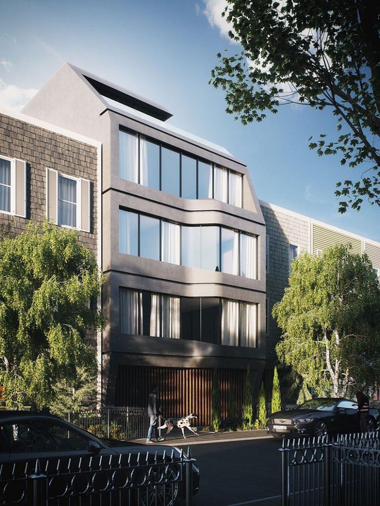 Rendering of 81 India Street - INOA Architecture