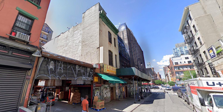 89 Ludlow Street in Manhattan's Lower East Side