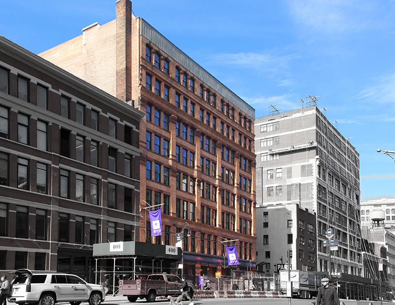 New York University's Global Public Health School - Kliment Halsband Architects