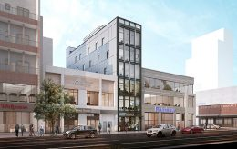 Rendering of 108 Delancey Street - Marin Architects