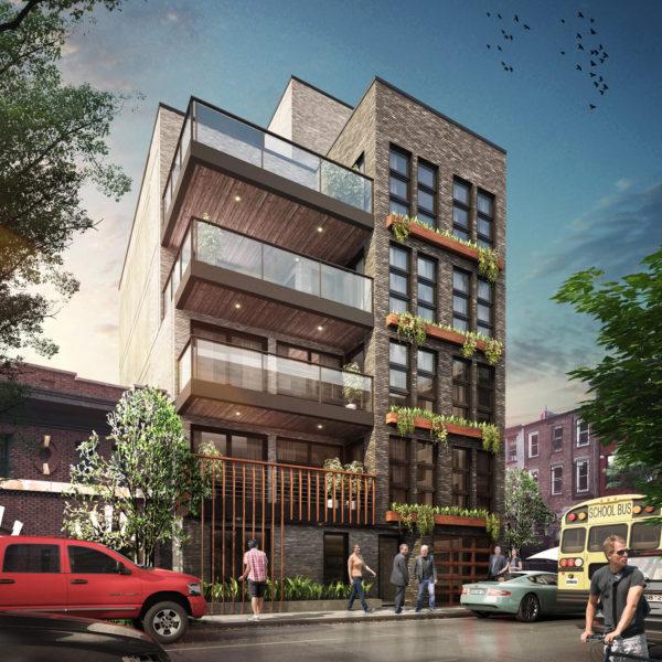Rendering of 197 Waverley Avenue - J Frankl Associates