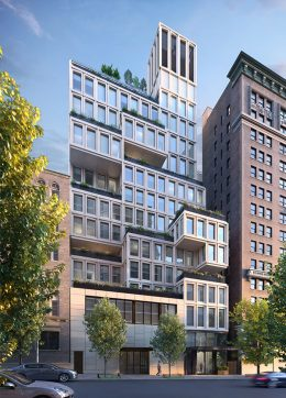 Rendering of 212 West 93rd Street - ODA