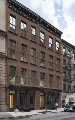 Rendering of 61-63 Crosby Street - David Grider Architect
