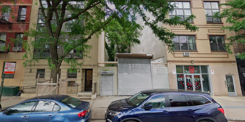 645 East 9th Street in Alphabet City, Manhattan