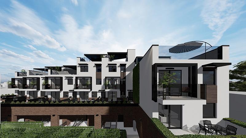 Rendering of 106-02 Astoria Blvd - Node Architecture Engineering Consulting