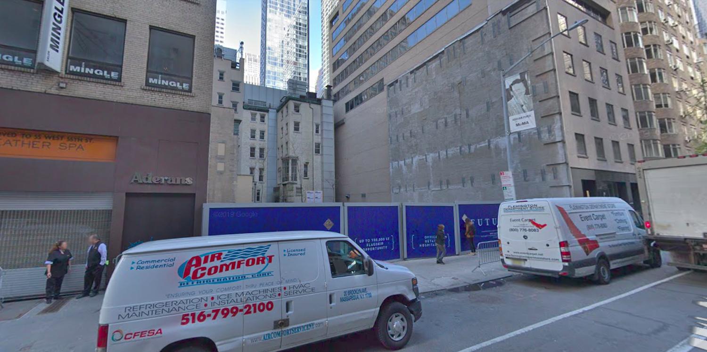 10 West 55th Street in Midtown, Manhattan