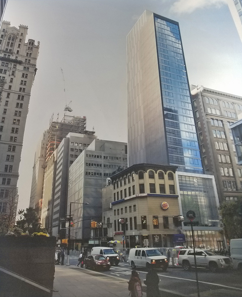 Rendering of 112 Liberty Street - Stonehill & Taylor Architects
