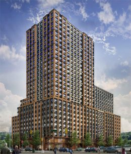 375 West 207th Street Rendering via Maddd Equities