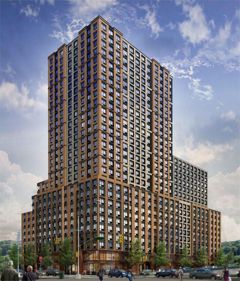 375 West 207th Street Rendering via Maddd Equities