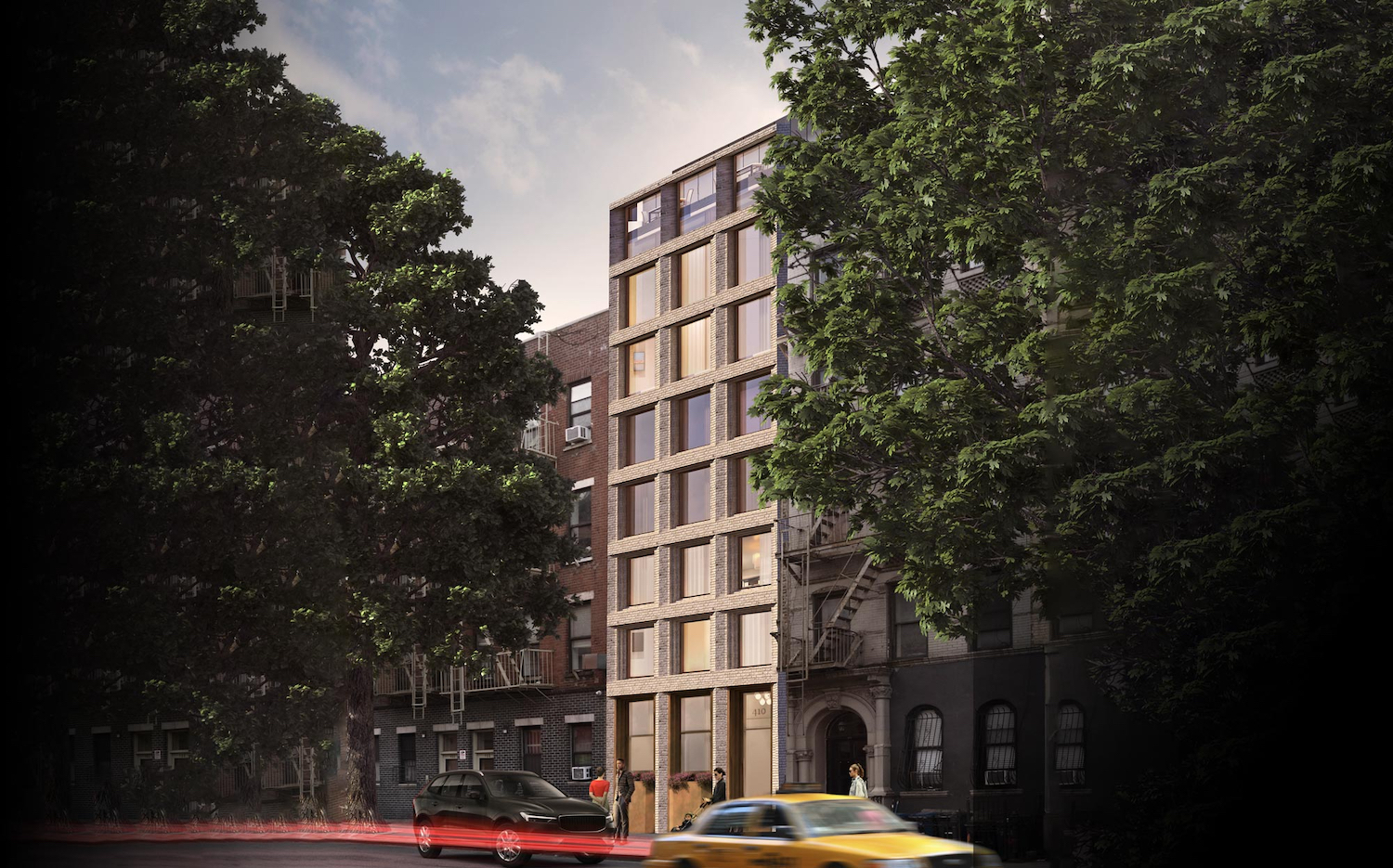 Rendering of 410 West 49th Street