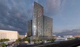 Rendering of Archer Towers at 163-05 Archer Avenue (Photos courtesy of Studio V Architecture)