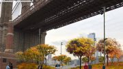 Rendering of proposed public spaces under the Brooklyn Bridge - Brooklyn Bridge Park Corporation