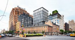 Rendering of the proposed property at 14th Street and Ninth Avenue - BKSK Architects
