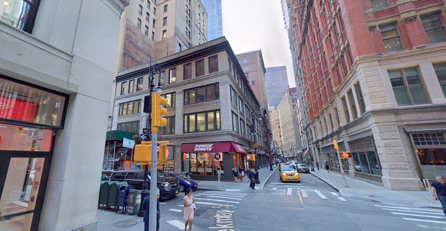 15 Beekman Street in Manhattan's Financial District