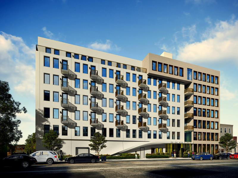 Rendering of 26-30 4th Street - J Frankl Assoiates
