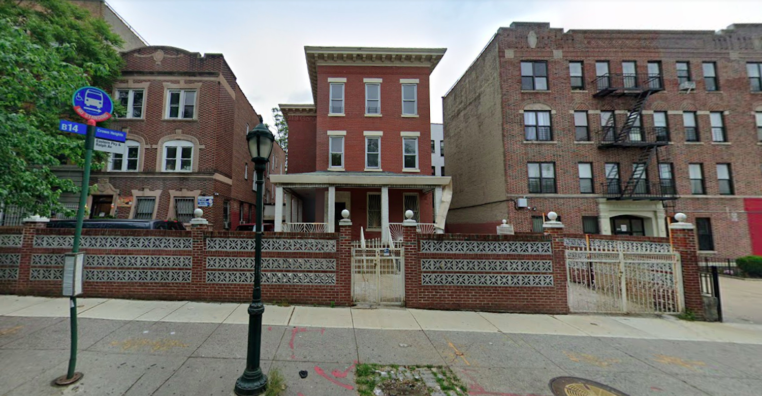 1367 Eastern Parkway in Crown Heights, Brooklyn