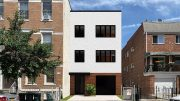 Rendering of front elevation at 31-45 41st Street - Fontan Architecture