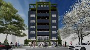 Rendering of 1525-1527 Bryant Avenue - Node Architecture Engineering