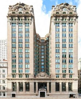 Existing view of 49-51 Chambers Street – Woods Bagot