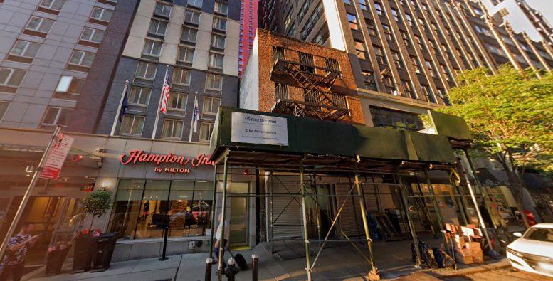 335 West 39th Street in Midtown West, Manhattan