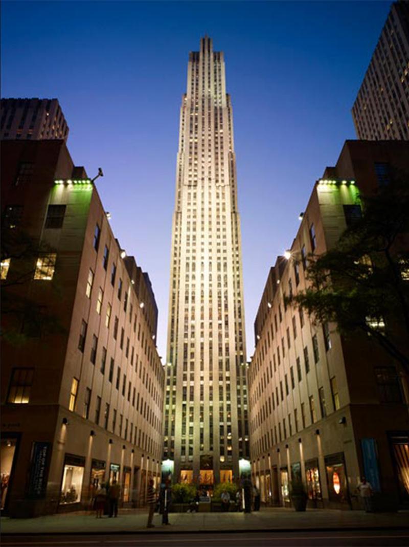 Image of 30 Rockefeller Plaza - courtesy of Tishman Speyer
