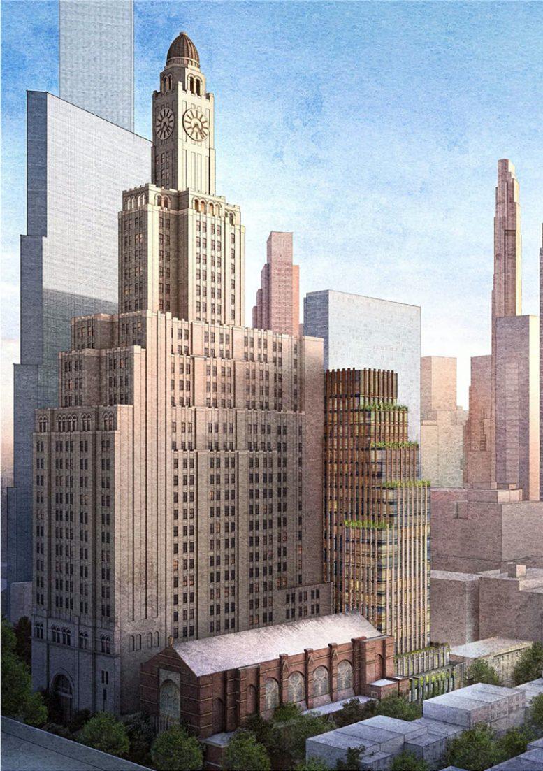 Updated rendering of 130 Saint Felix Street - FXCollaborative