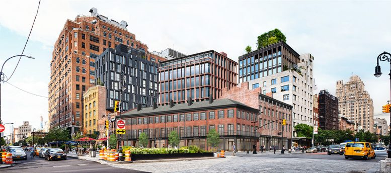 Updated rendering of proposed property at 14th Street and Ninth Avenue - BKSK Architects