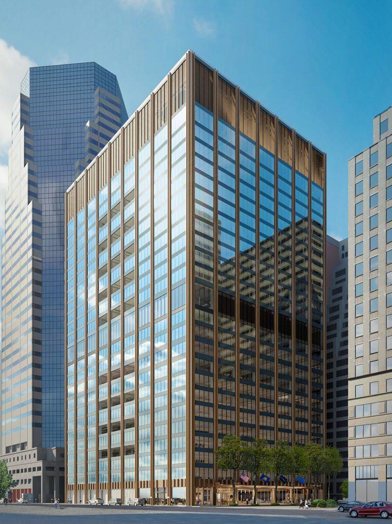Rendering of 111 Wall Street - Nightingale Properties; Wafra Capital Partners