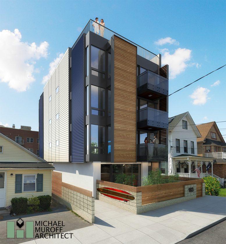Rendering of 183 Beach 101 - Michael Muroff Architect