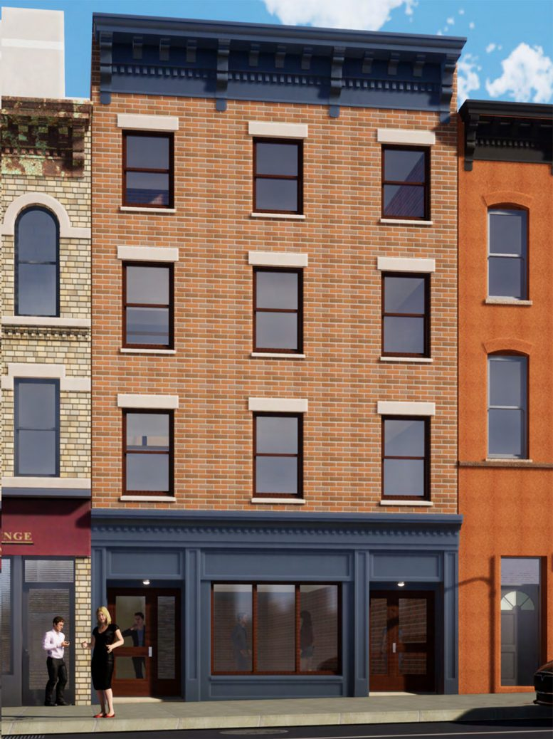 Rendering of 631 Vanderbilt Avenue - RSLN Architecture