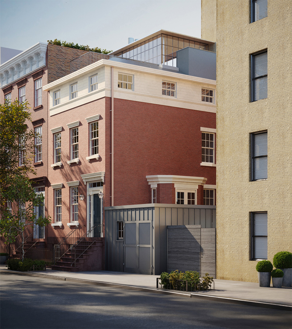 Renderings of expansion at 65 Horatio Street - Steven Harris Architects
