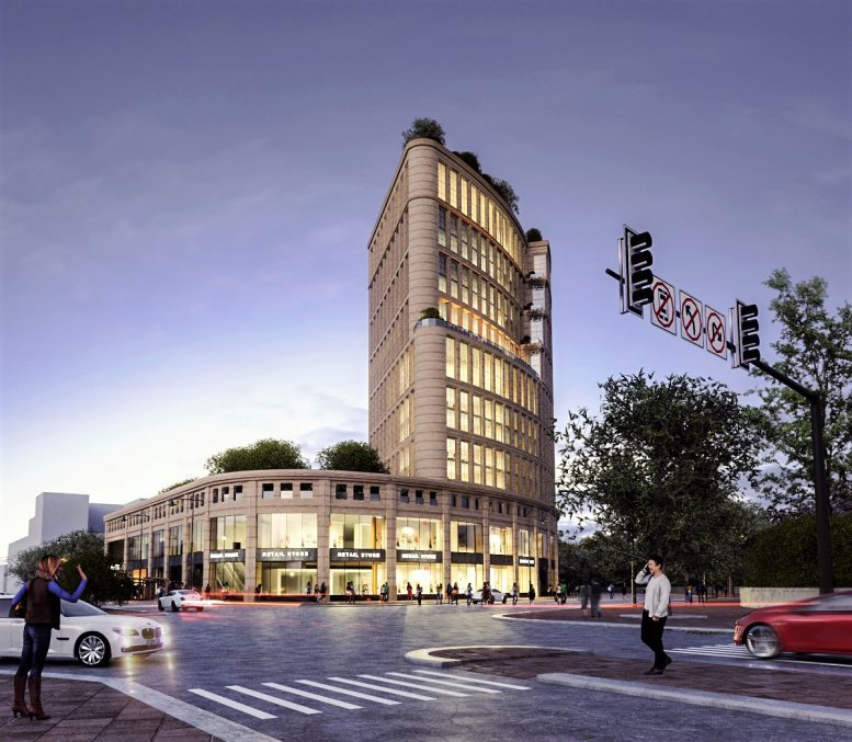 Rendering of 15 Ocean Avenue - Rise Architecture
