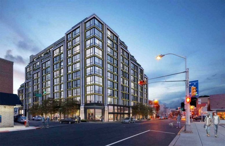 281-289 Broadway. Rendering courtesy of Melamed Architect