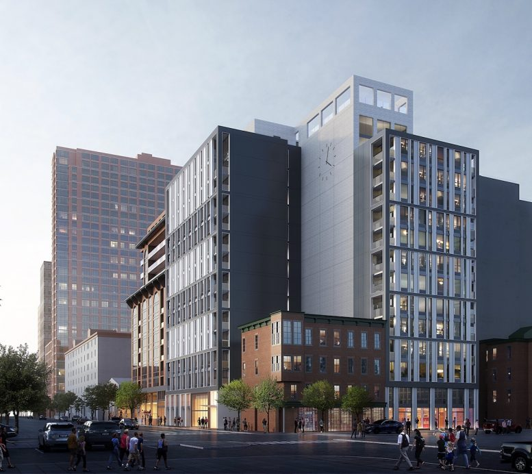 Exterior rendering of DVORA 175 - Rendering courtesy of Pax Brooklyn