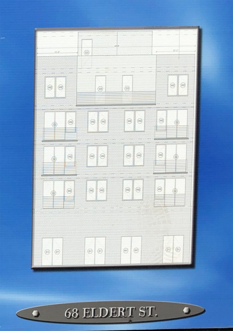 Preliminary rendering of 68 Eldert Street