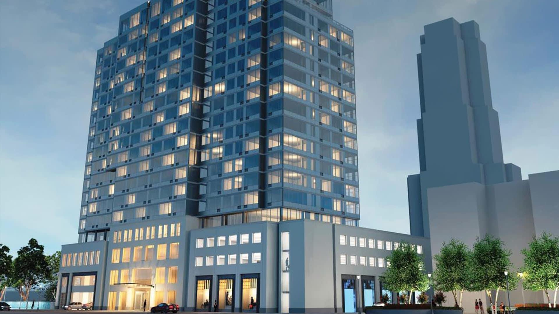 Updated rendering of 11 Garden Street - Stephen B. Jacobs Group