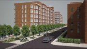 Rendering of 50-25 Barnett Avenue - Phipps Houses