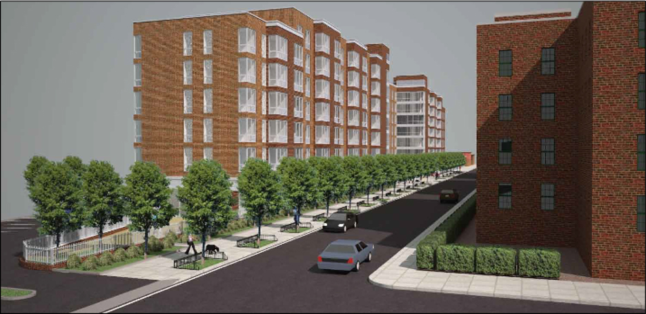 Rendering of 50-25 Barnett Avenue - Phipps Houses