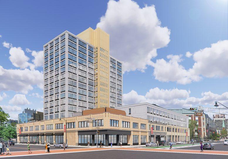 Rendering of Newark Urby - L+M Development Partners