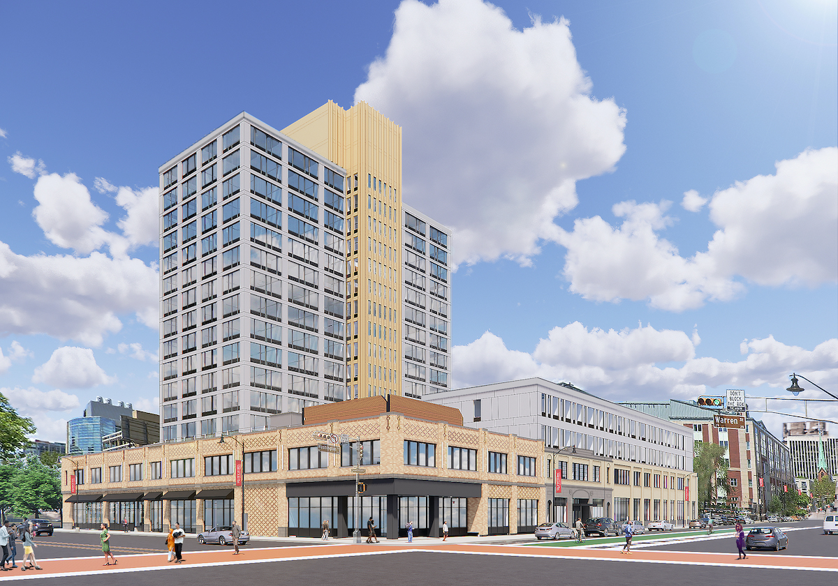 Rendering of Newark Urby - L+M Development Partners