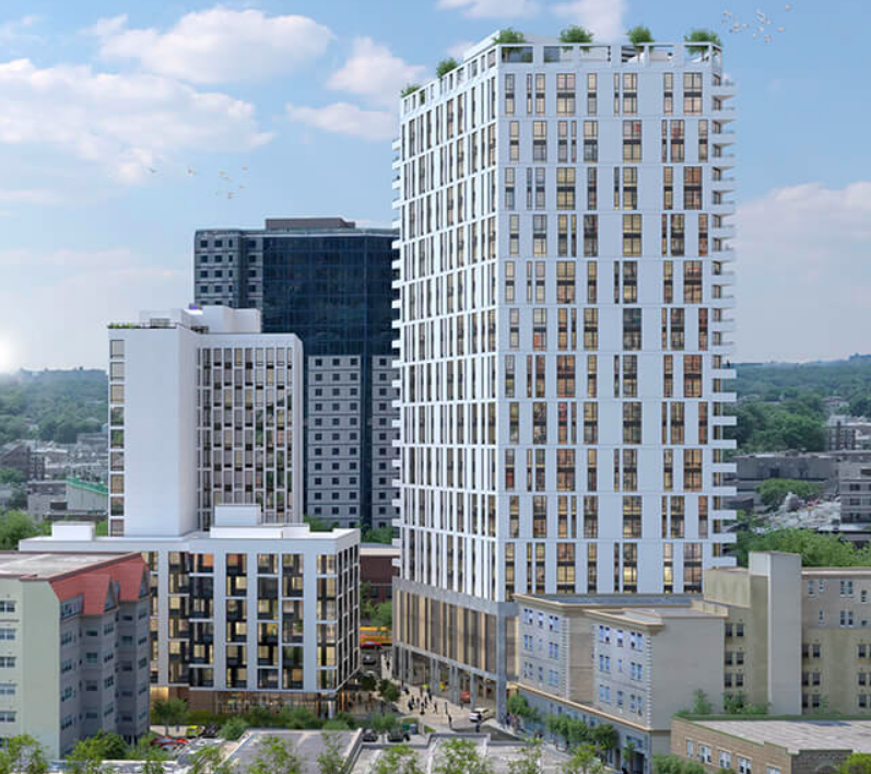 Rendering of Westchester Place - Richard Bienenfeld Architect