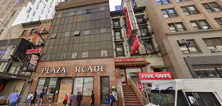 32 West 48 Street in Midtown, Manhattan
