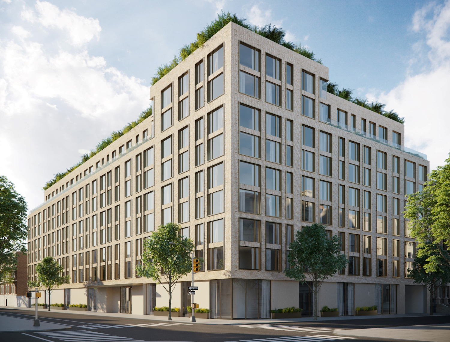 Rendering of 153-10 88th Avenue in Jamaica, Queens. Courtesy of Brett Fisher/Depict
