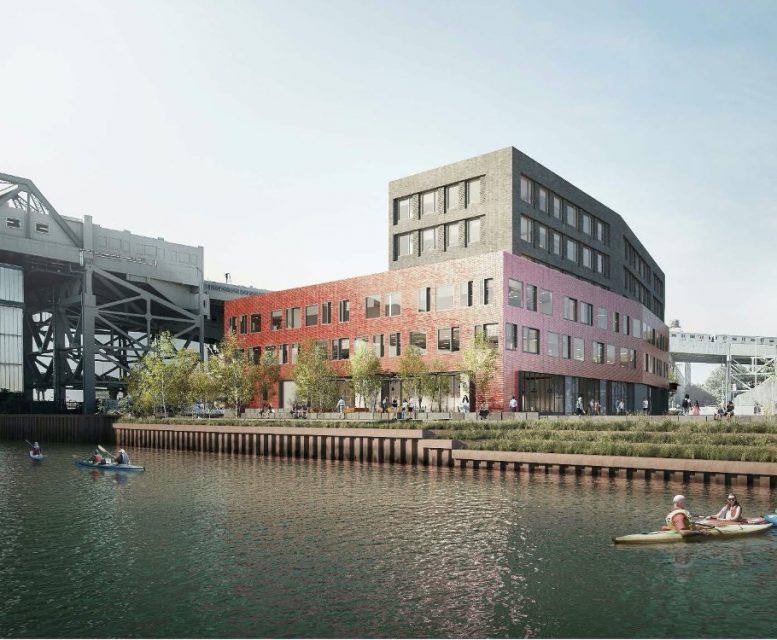 Rendering of 300 Huntington Street - Monadnock Development